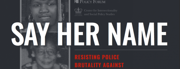 This Week: #SayHerName, College Diversity, and Voter Suppression